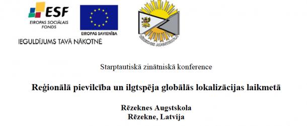 Regionaluo pīviļceiba i ilgtspieja globaluos lokalizacejis laikūs