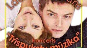 """Laura i Romāns """"Treispukstu muzykā"""""""