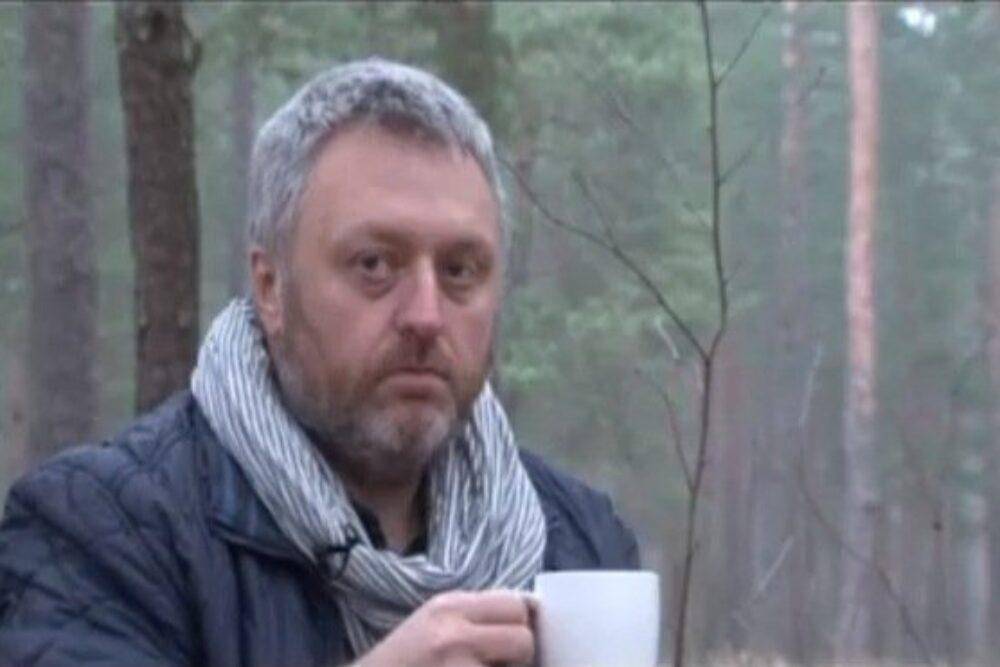 Valentins Lukaševičs ar dzeju mežā i Bolvūs