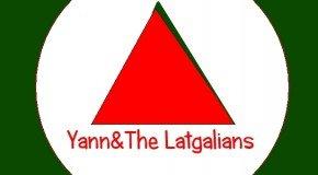 Latgalīšu/franču pankroka grupa Yann&The Latgalians ar dzīsmi sveic vysus svātkūs!