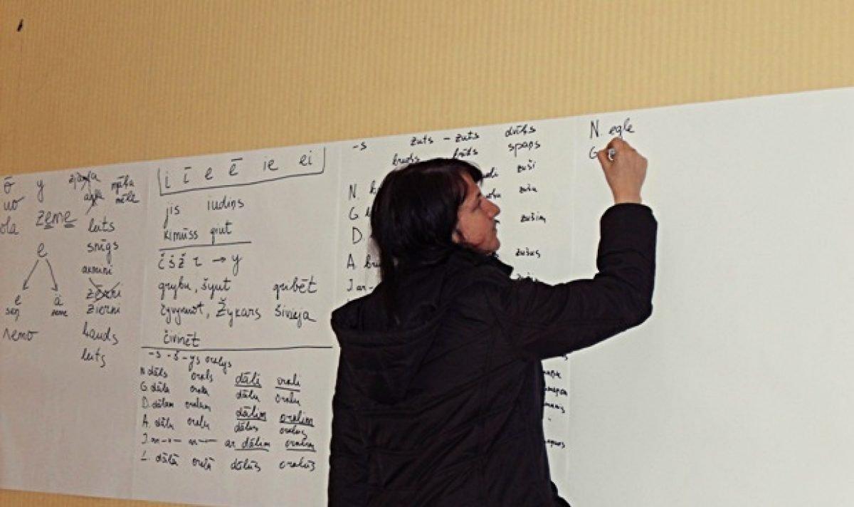 Dorbu atsuoc Latgalīšu ortografejis apakškomiseja jaunā sastuovā