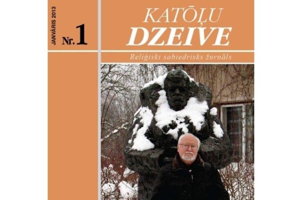 """Žurnala """"Katōļu Dzeive"""" janvara numerī skaiteisim"""