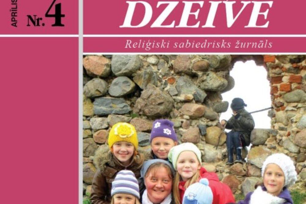 """Žurnala """"Katōļu Dzeive"""" apreļa numerī skaiteisim"""