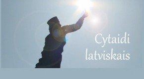 """""""Cytaidi latviskais"""" – latgalīšu raksturs"""