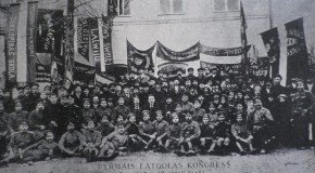Izdūts rokstu kruojums par 1917. goda kongresu