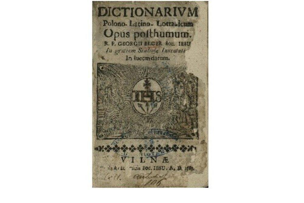 Jezuiti i gruomotnīceibys suokumi Latgolā 17. i 18.gs.
