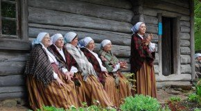 "Latgolys folklorys vuokuma konkurss ""Apleicīne 3"""