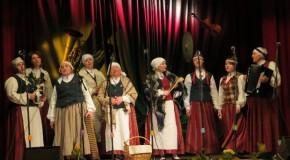 Aicynoj dasasaceit XV Tautys muzykantu svātkim Viļānūs