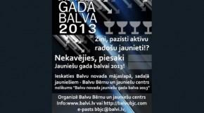 Izsludynuota Bolvu nūvoda Jaunīšu goda bolva 2013