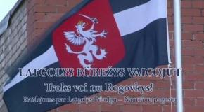 """Raidejums """"Latgolys rūbežys vaicojūt"""" par Rogovku"""