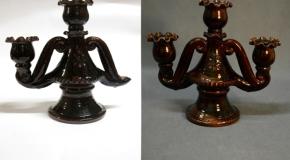 Latgolys Kulturviesturis muzejā restaurāti 43 keramikys prīškmati