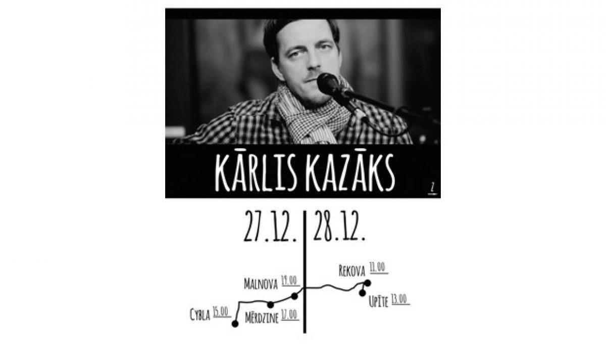Latgolā ar koncertim gastēs Kārlis Kazāks