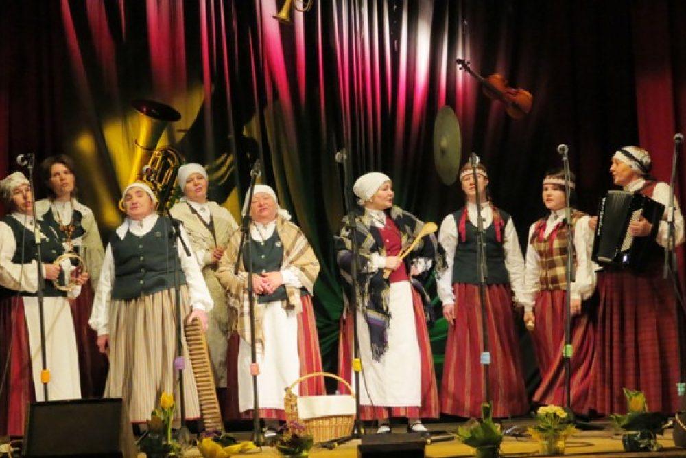 Laksteigolu solā nūtiks XV Tautys muzykantu svātki