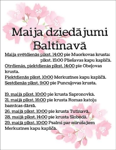 maja dziduojumi baltinova