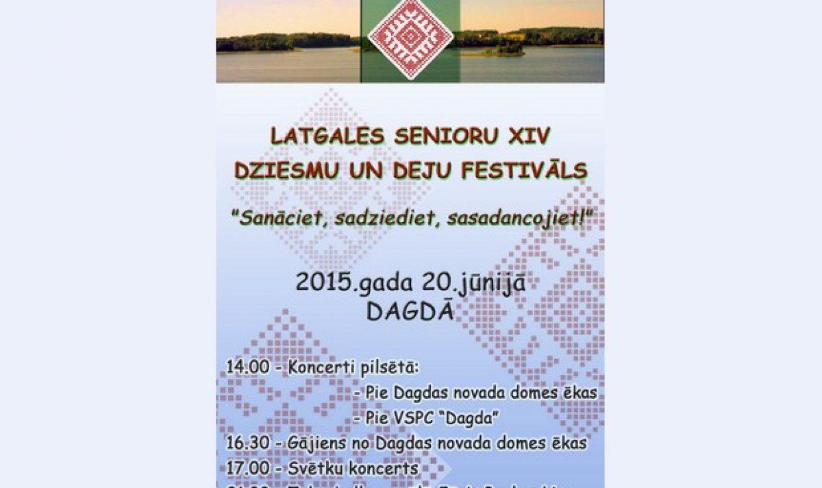 Nūtiks Latgolys senioru dzišmu i deju festivals