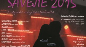 "Kubulūs nūtiks dzeivuos muzykys grupu festivals ""Savējie 2015"""