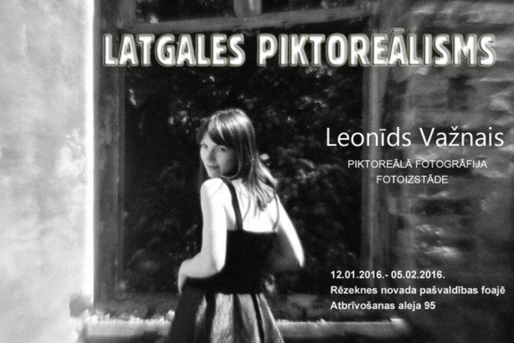 """Rēzeknē apsaverama Leonida Važnuo fotoizstuode """"Latgales piktoreālisms"""""""