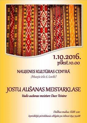 Jūstu ausšonys meistarklase @ Naujinis kulturys centrys | Lociki | Daugavpils Municipality | Latvia