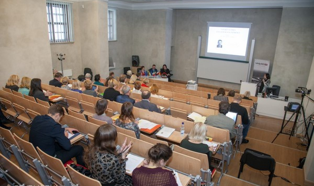 Aizvadeita 9. storptautyskuo latgalistikys konfereņce