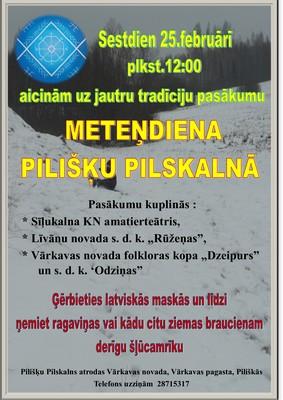 Meteņdīna @ Pilišku piļskolns   Piliškas   Latvia