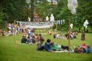 Muokslys piknikā Lūznovā ari latgaliskys nūskanis