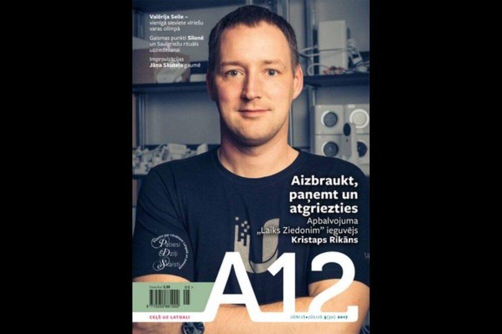 """Kū var skaiteit """"A12"""" vosorys numerī"""