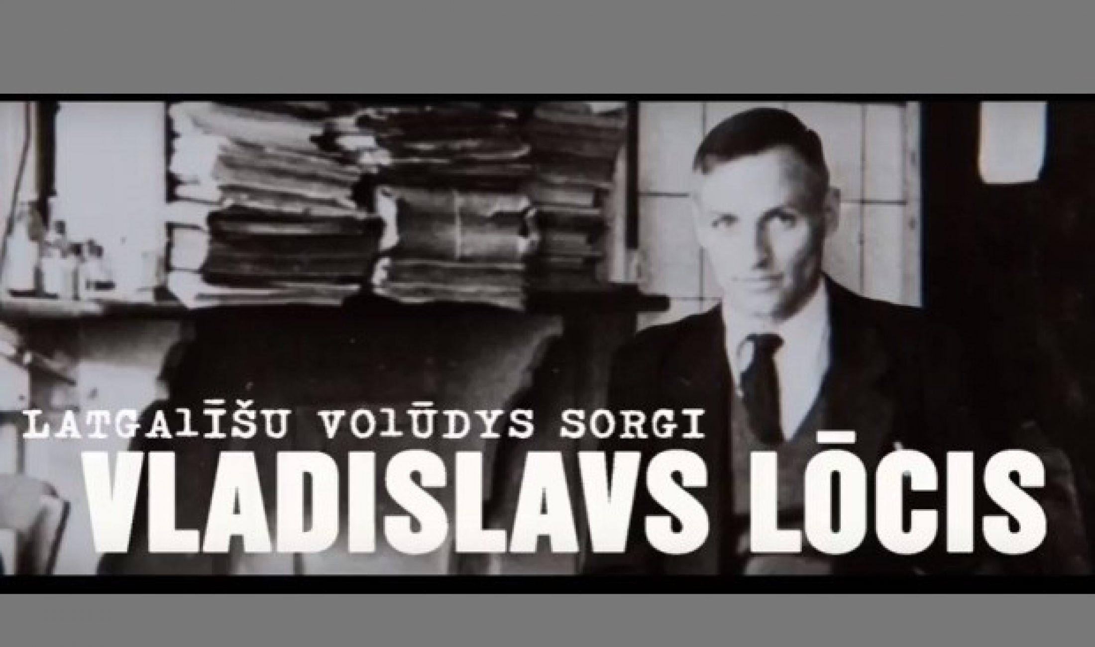 Trešdiņ TV pyrmizruode raidejumam par Vladislavu Luoci