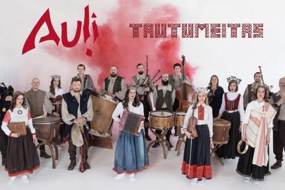 """Pyrma koncerta Rēzeknē """"Auļi"""" i """"Tautumeitas"""" pīduovoj nūsauklauseit """"Aulejis klezmeru"""""""