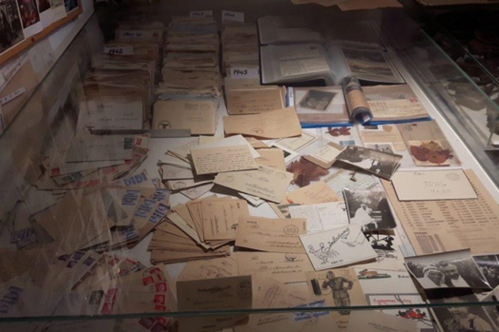 """""""Pi myusim Latgolā"""" gastej 2. pasauļa kara ekspozicejā Aglyunā"""