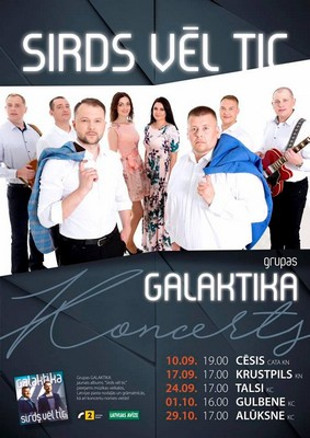 "Grupys ""Galaktika"" koncerts @ CATA kulturys noms | Cēsis | Latvia"