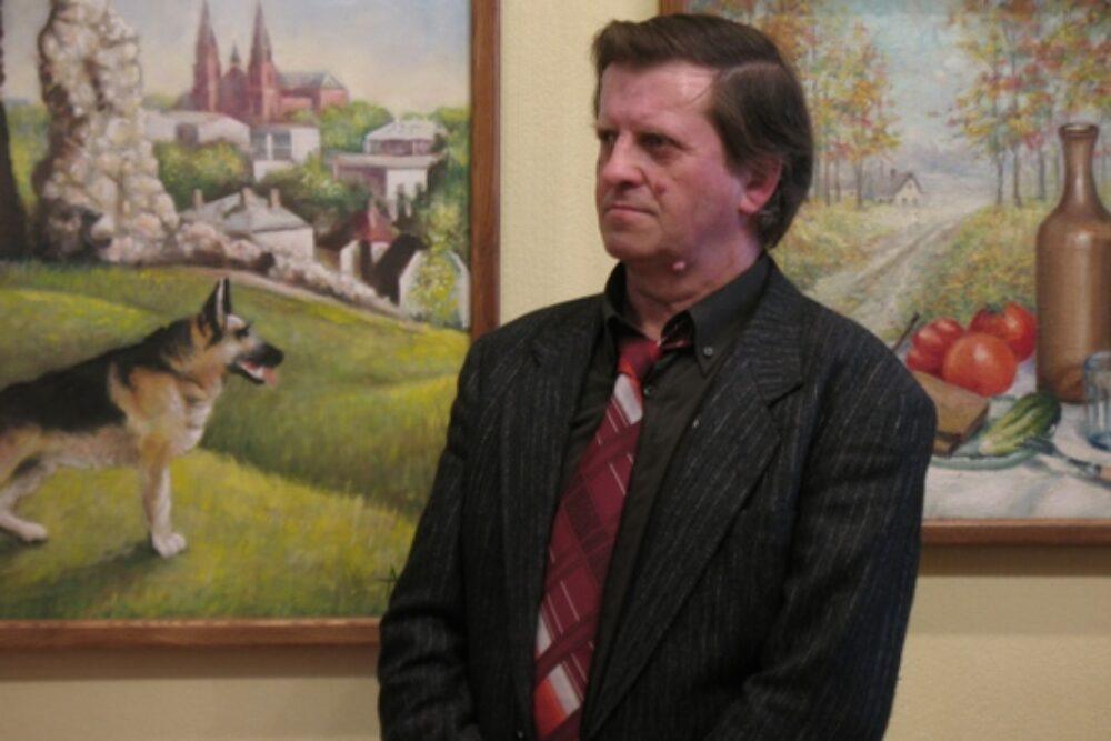 Latgolys Kulturviesturis muzejā apsaverama Aivara Kisis gleznu izstuode