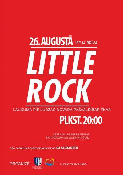 "Festivals ""Little Rock"" @ Pi Ludzys nūvoda pošvaļdeibys ākys | Ludza | Latvia"