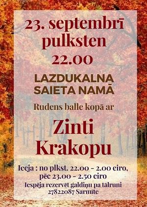Rudiņa bals ar Zinti Krakopu @ Lozdukolna saīta noms | Benislava | Latvia