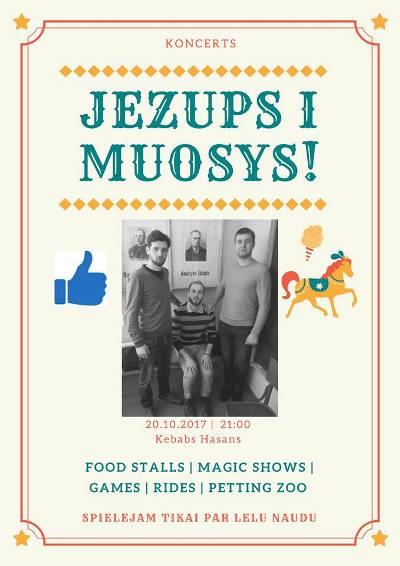 """Jezups i muosys"" koncerts @ ""Hasans"" | Preiļi | Latvia"