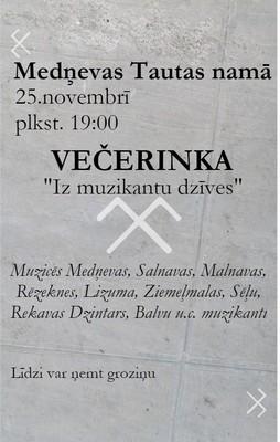 Večerinka @ Medņovys tautys noms | Semenova | Latvia