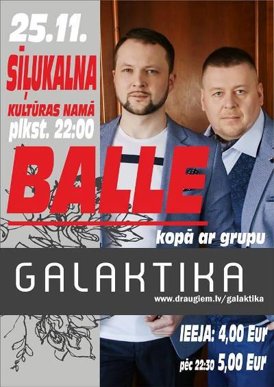 "Bals ar grupu ""Galaktika"" @ Seiļukolna kulturys noms | Sīļukalns | Latvia"