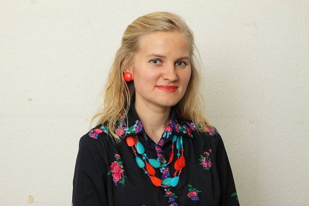 Kruoslovā byus apsaverama tekstilmuokslineicys Ingunys Levšys izstuode