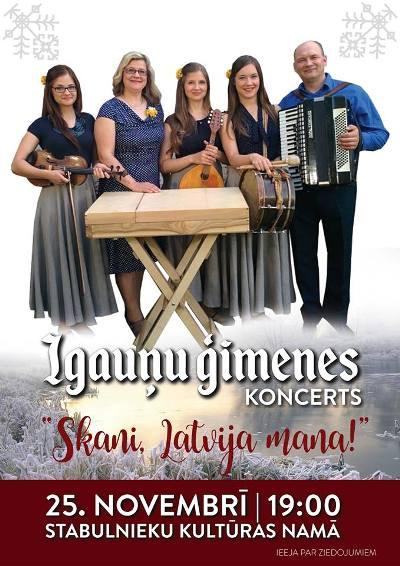 Igauņu saimis koncerts @ Stabuļnīku kulturys noms | Stabulnieki | Latvia