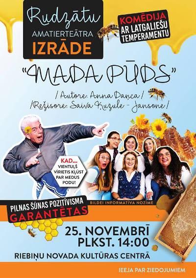 "Izruode ""Mada pūds"" @ Rībeņu nūvoda kulturys centrys | Riebiņi | Latvia"