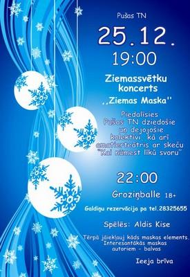 Zīmyssvātku koncerts i bals @ Pušys TN | Puša | Latvia