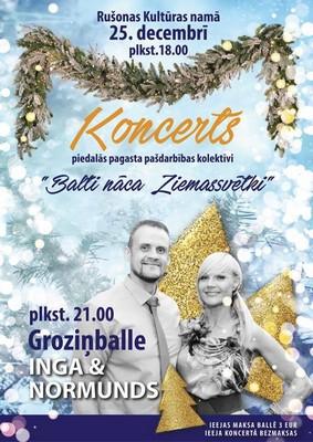 Zīmyssvātku koncerts i bals @ Rušyunys kulturys noms | Aglonas stacija | Latvia