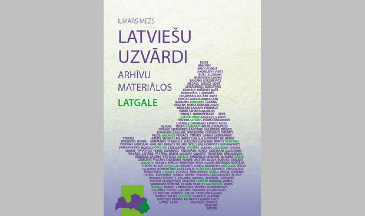 Izdūta Ilmāra Meža gruomota par pavuordem Latgolā