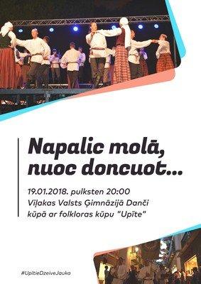 "Daņči ar folklorys kūpu ""Upīte"" @ Viļakys Vaļsts gimnazeja | Viļaka | Latvia"