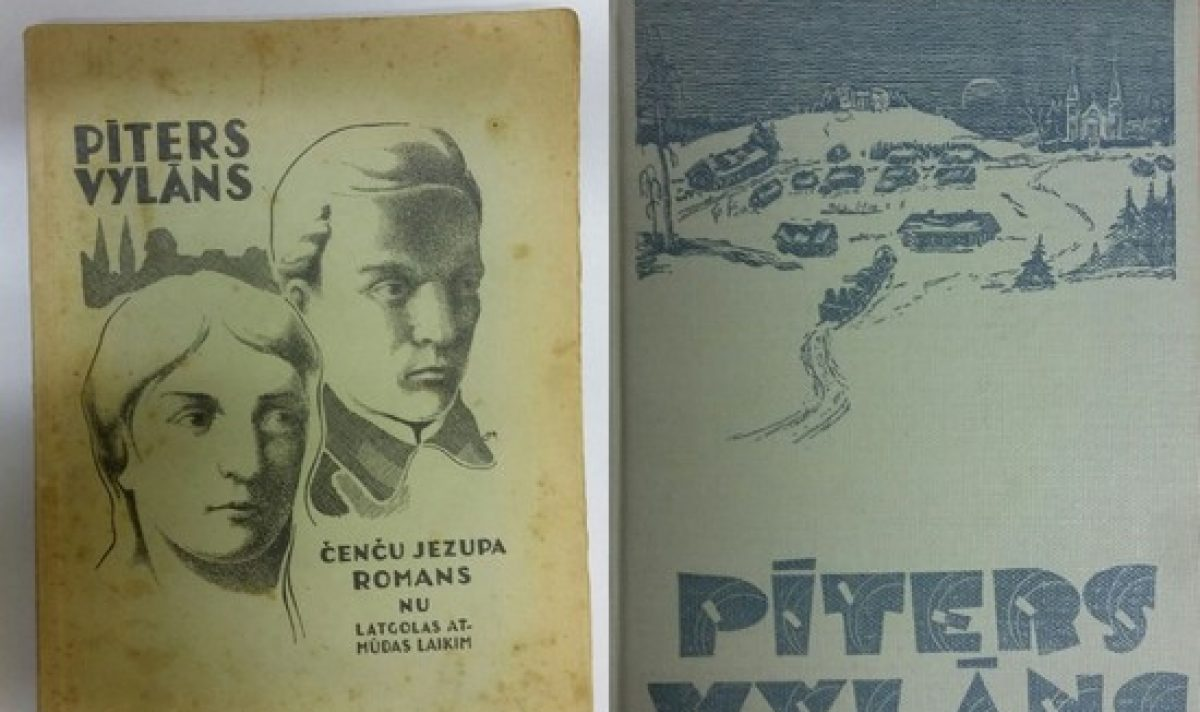 """Jauneibys idealisms: Čenču Jezupa romans """"Pīters Vylāns"""""""
