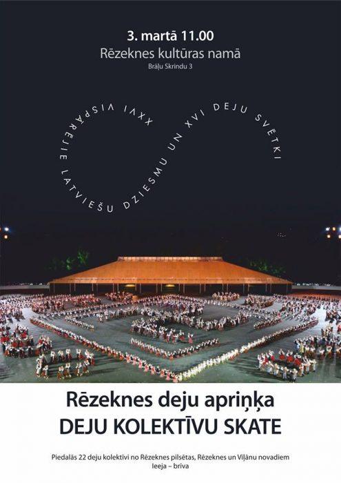 Rēzeknis deju apriņča deju kolektivu skate @ Rēzeknis kulturys noms | Rēzekne | Latvia
