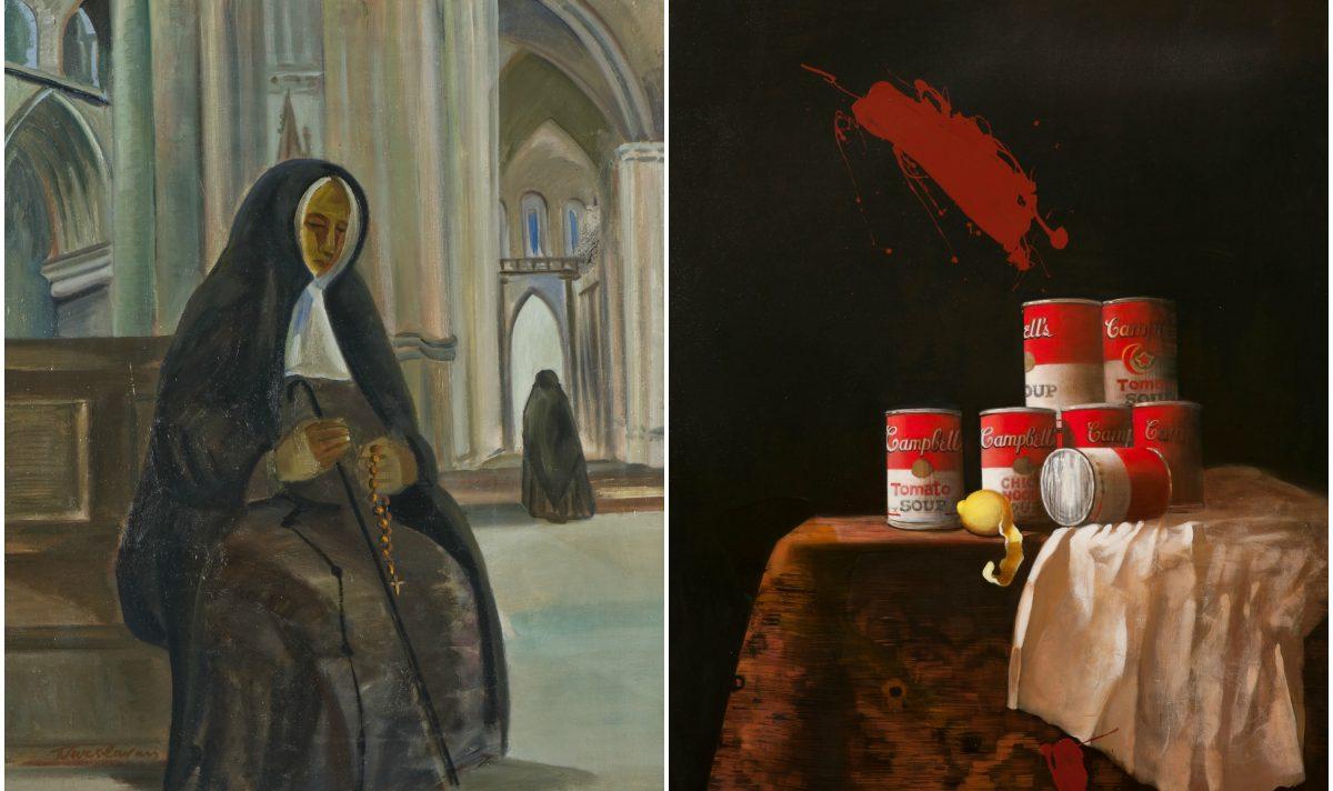 Rēzeknē varēs apsavērt Franciska Varslavāna i juo mozmeitys Frančeskys Kirkis gleznys