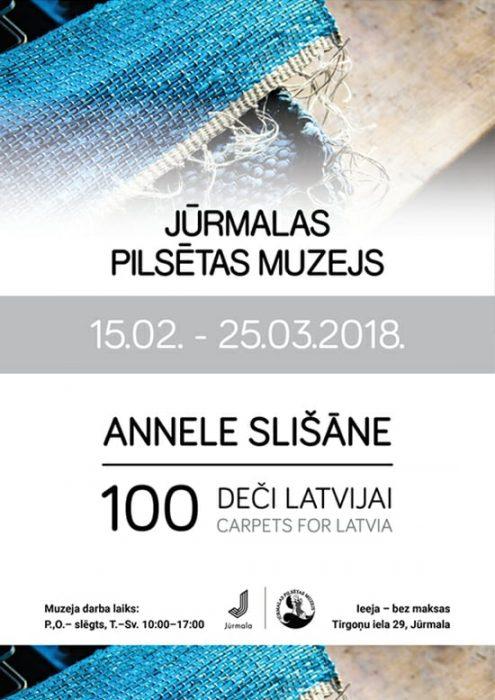 Annele Slišāne #100 deči Latvejai @ Jiurmolys piļsātys muzejs | Jūrmala | Latvia