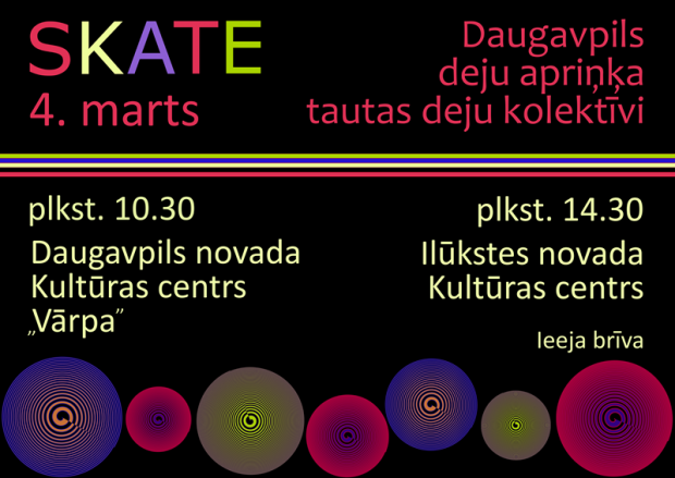 "Daugovpiļs deju apriņča deju kolektivu skate @ Daugovpiļs nūvoda kulturys centrs ""Vārpa"" | Daugavpils | Latvia"