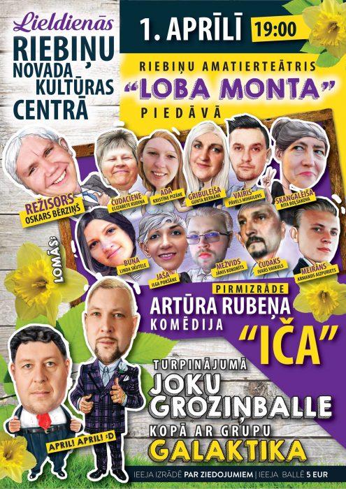 "Izruode ""Iča"" i bals ar grupu ""Galaktika"" @ Rībeņu nūvoda kulturys centrs | Riebiņi | Latvia"