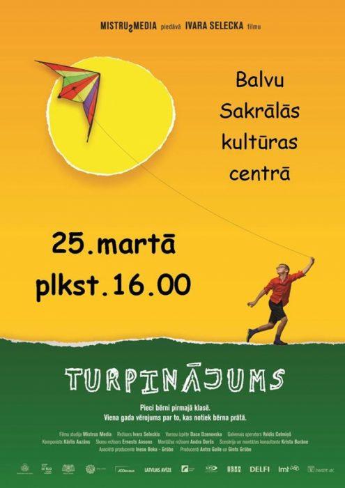 "Dokumentaluo kina ""Turpinājums"" @ Bolvu Sakraluos kulturys centrs | Balvi | Latvia"